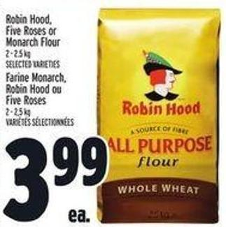 Robin Hood - Five Roses Or Monarch Flour