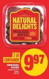 Medjool Dates - 2 Lb Container