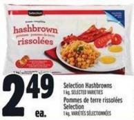 Selection Hashbrowns 1 Kg