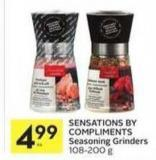 Sensations By Compliments Seasoning Grinders