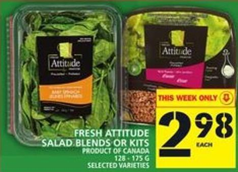 Fresh Attitude Salad Blends Or Kits
