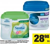 Similac Non-gmo - 638/658 G Or Nestlé Good Start - 600/660 G Infant Formula Powder With Omega