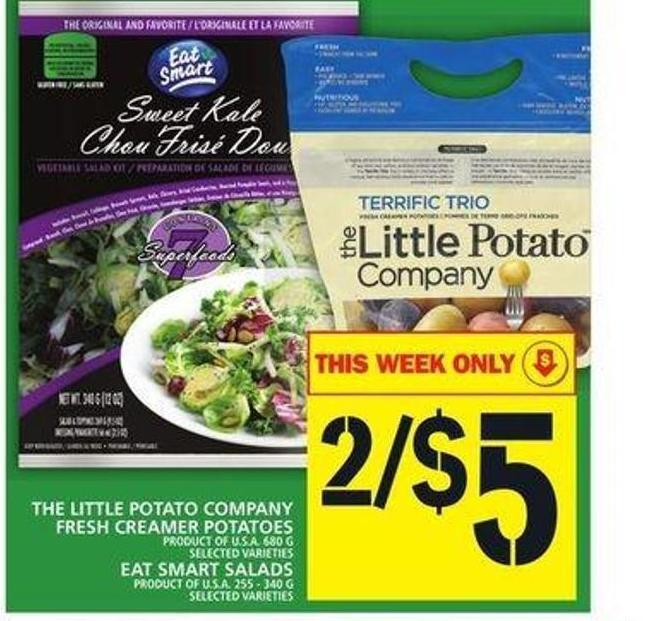The Little Potato Company Fresh Creamer Potatoes Or Eat Smart Salads