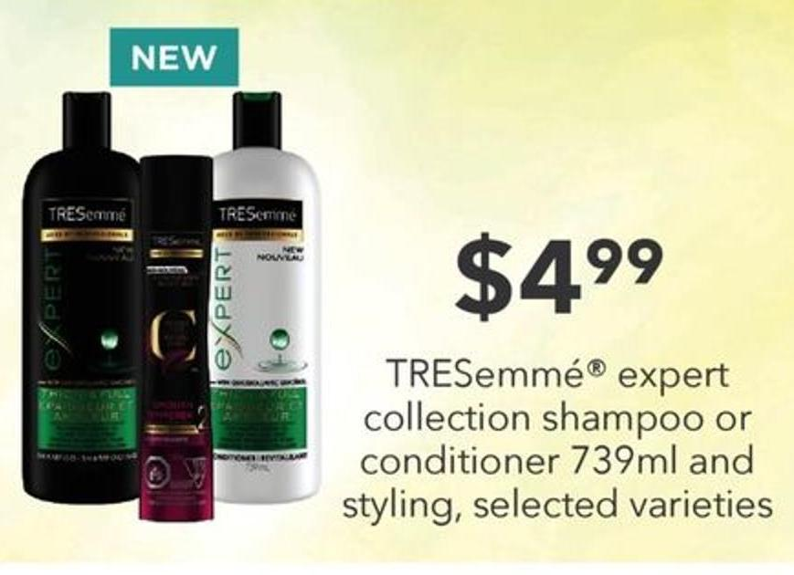 Tresemmé Expert Collection Shampoo Or Conditioner - 739ml And Styling