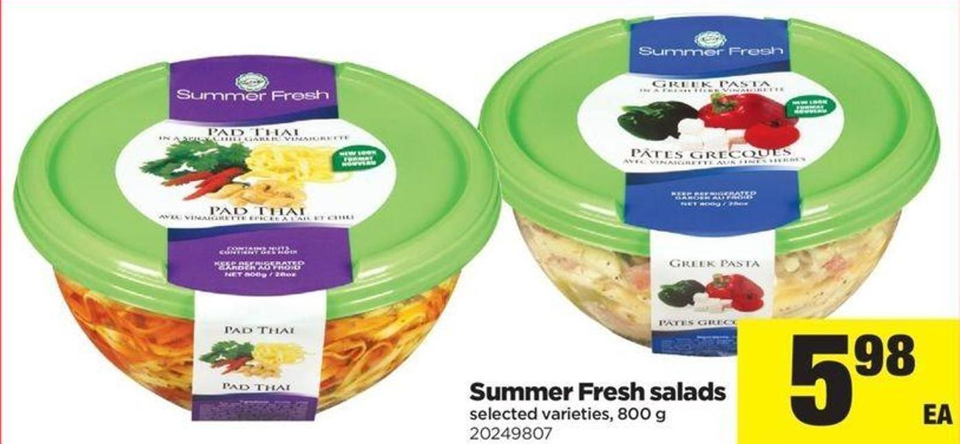 Summer Fresh Salads - 800 G