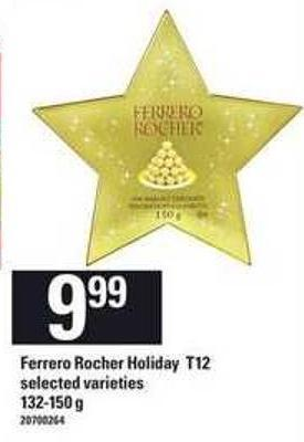 Ferrero Rocher Holiday T12 - 132-150 g