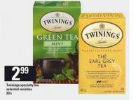 Twinings Specialty Tea - 20's