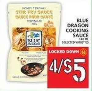 Blue Dragon Cooking Sauce