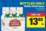 Stella Artois Beer - 6 X 330 mL