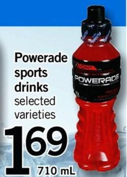 Powerade Sports Drinks 710 ml