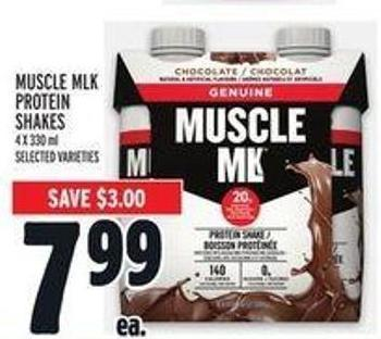 Muscle Mlk Protein Shakes