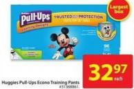 Huggies Pull-Ups Econo Training Pants