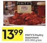 Pinty's Poultry Assortment 810-950 g Box