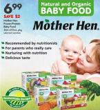 Mother Hen  Frozen Protein  Baby Food 354-472ml Pkg