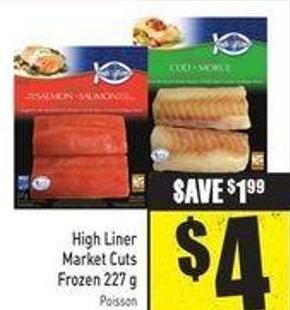 High Liner Market Cuts Frozen 227 g