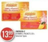 Emergen - C Vitamin C Packet 30's