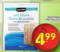 Selection Fish Fillets