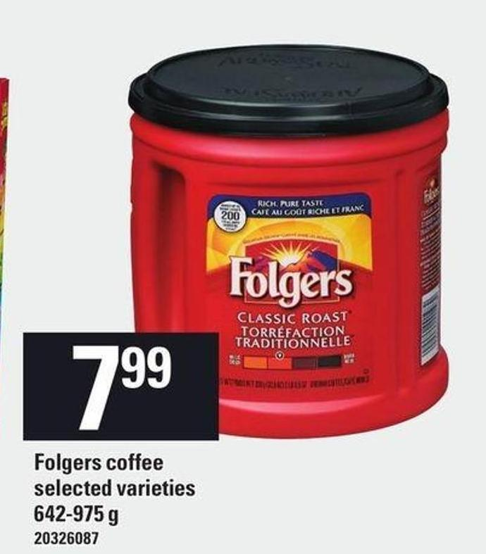 Folgers Coffee - 642-975 G