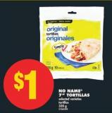 No Name 7in Tortillas - 320 g