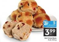 Hot Cross Buns - 5 Air Miles Bonus Miles