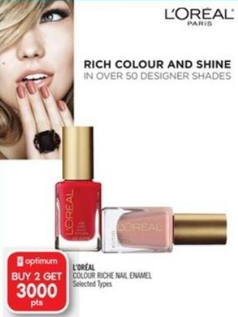 L'oréal Colour Riche Nail Enamel