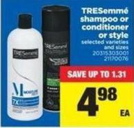 Tresemmé Shampoo Or Conditioner Or Style