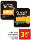 Cracker Barrel Natural Slices