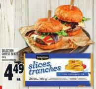 Selection Cheese Slices 450 g