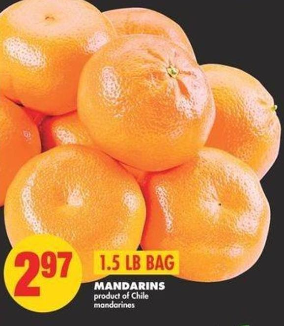 Mandarins - 1.5 Lb Bag
