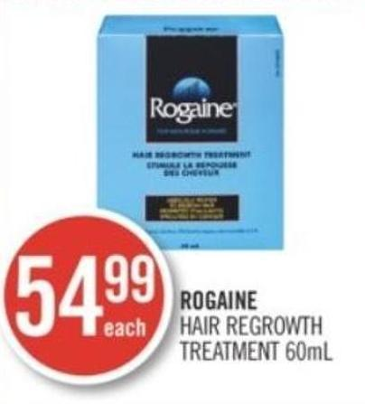 Rogaine Hair Regrowth Treatment 60ml