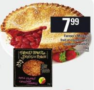 Farmer's Market Fruit Or Crumble Pies - 1 Kg