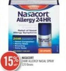 Nasacort 24hr Allergy Nasal Spray
