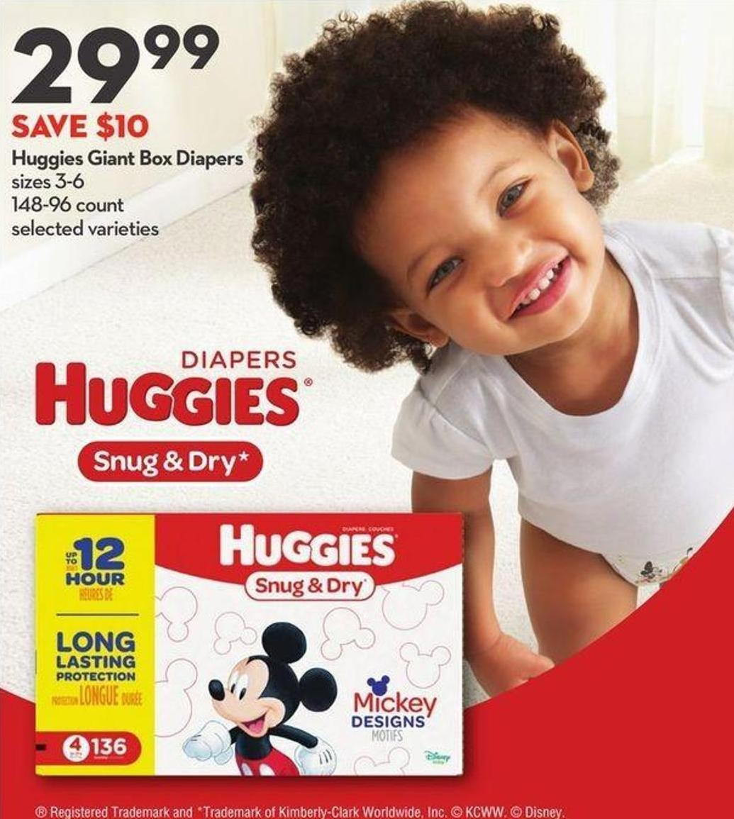 Huggies Giant Box Diapers
