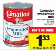 Carnation Evaporated Milk - 354 mL