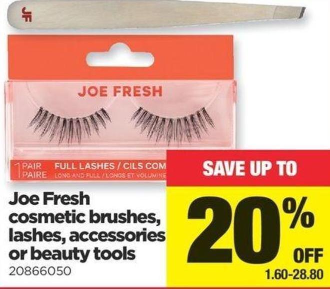 Joe Fresh Cosmetic Brushes - Lashes - Accessories Or Beauty Tools