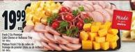 Fresh 2 Go Premium Cube Cheese Or Kolbassa Tray