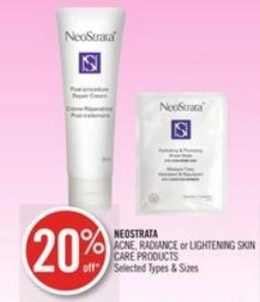 Neostrata Acne - Radiance or Lightening Skin Care Products