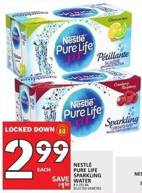 Nestle Pure Life Sparkling Water