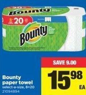 Bounty Paper Towel - 8=20
