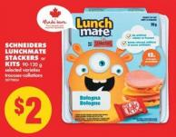 Schneiders Lunchmate Stackers or Kits - 90-120 g