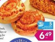 Cheese Swirl Buns - 5 Air Miles Bonus Miles