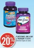 Flintstones - One A Day or Redoxon Vitamins