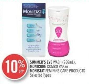 Summer's Eye Wash (266 Ml) - Manicure Combo Pack or Monistat Feminine Care Products