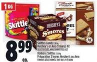 Skittles Candy 1.16 Kg - Hershey's Or Aero S'mores Kit
