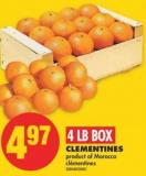 Clementines - 4 Lb Box