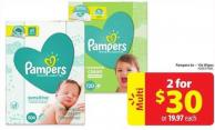 Pampers 6x - 10x Wipes