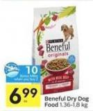 Beneful Dry Dog Food - 10 Air Miles Bonus Miles