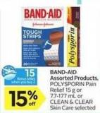 Band‑aid Assorted Products - 10 Air Miles