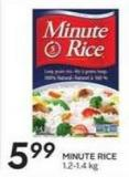 Minute Rice 1.2-1.4 Kg
