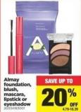 Almay Foundation - Blush - Mascara - Lipstick Or Eyeshadow